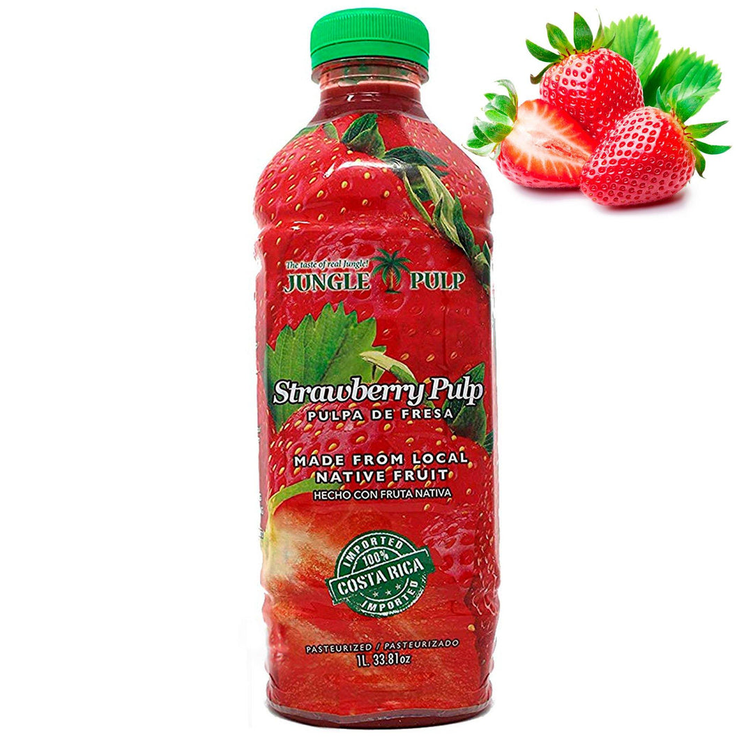 STRAWBERRY Puree Mix - Jungle Pulp