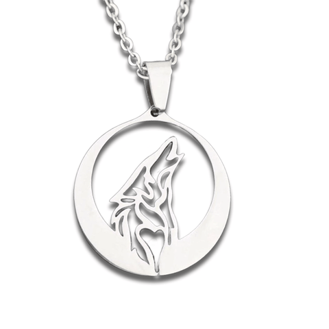 Collier Loup <br> Hurlement Nocturne