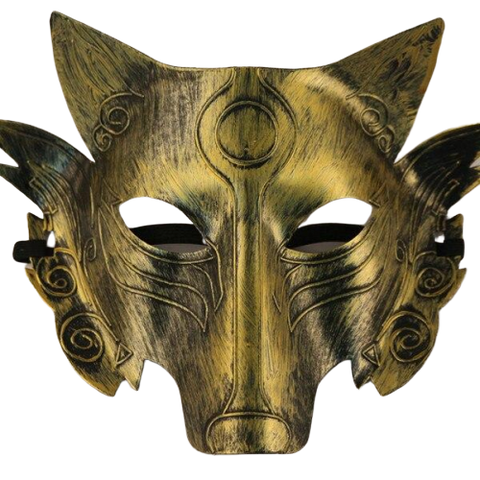 Masque Loup Carnaval