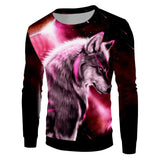Pull 3d Loup