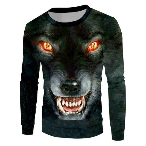 Pull Loup Féroce