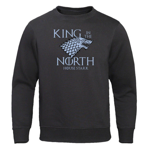 Pull Tête de Loup Game of Thrones Noir S