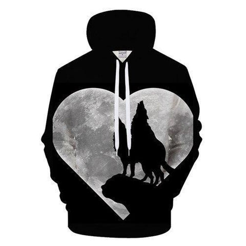 Sweat Coeur de Loup