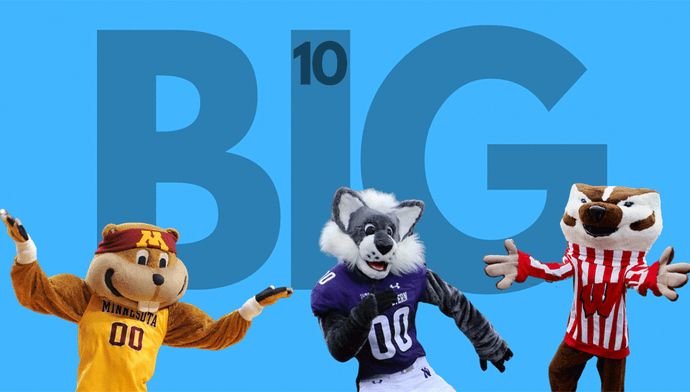 BIG10 West 2020 Preview: the war between Badgers, Gophers, and other midwestern mammals.