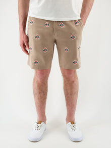 Ohio State Khaki Shorts