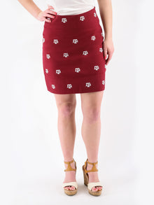 Texas A&M Maroon Skirt