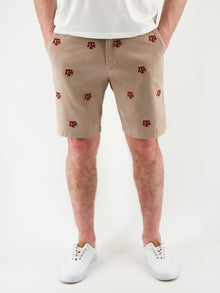 Texas A&M Khaki Shorts