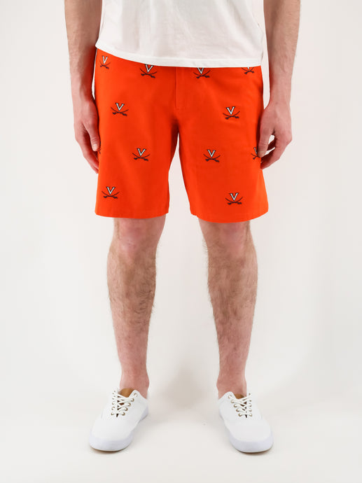 University of Virginia Orange Shorts