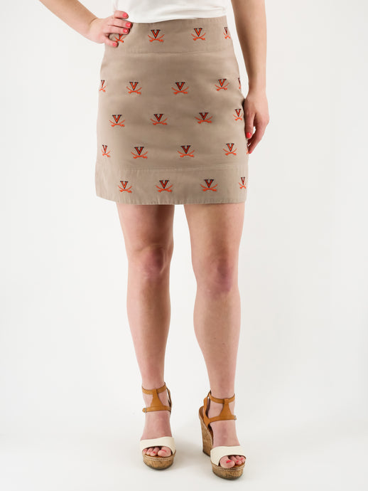 University of Virginia Khaki Skirt