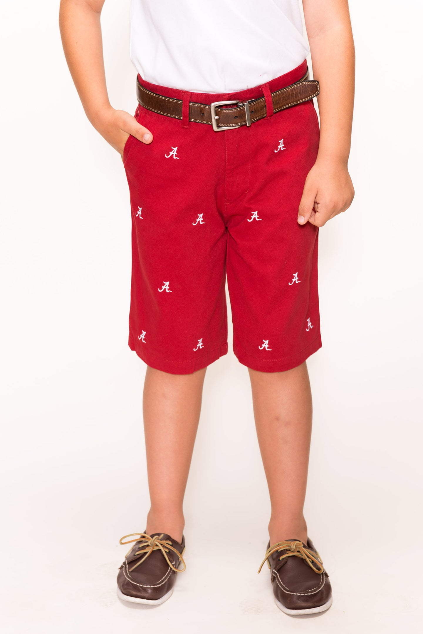 Alabama Boy's Crimson Short