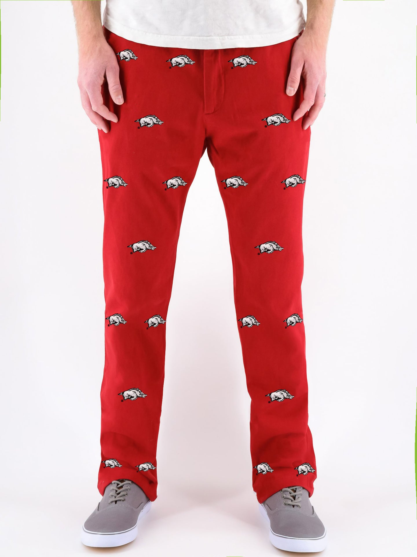 Arkansas Razorback Red Pants