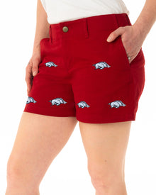 Arkansas Women's Razorback Short