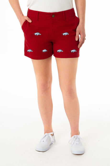 Arkansas Women's Cardinal Short