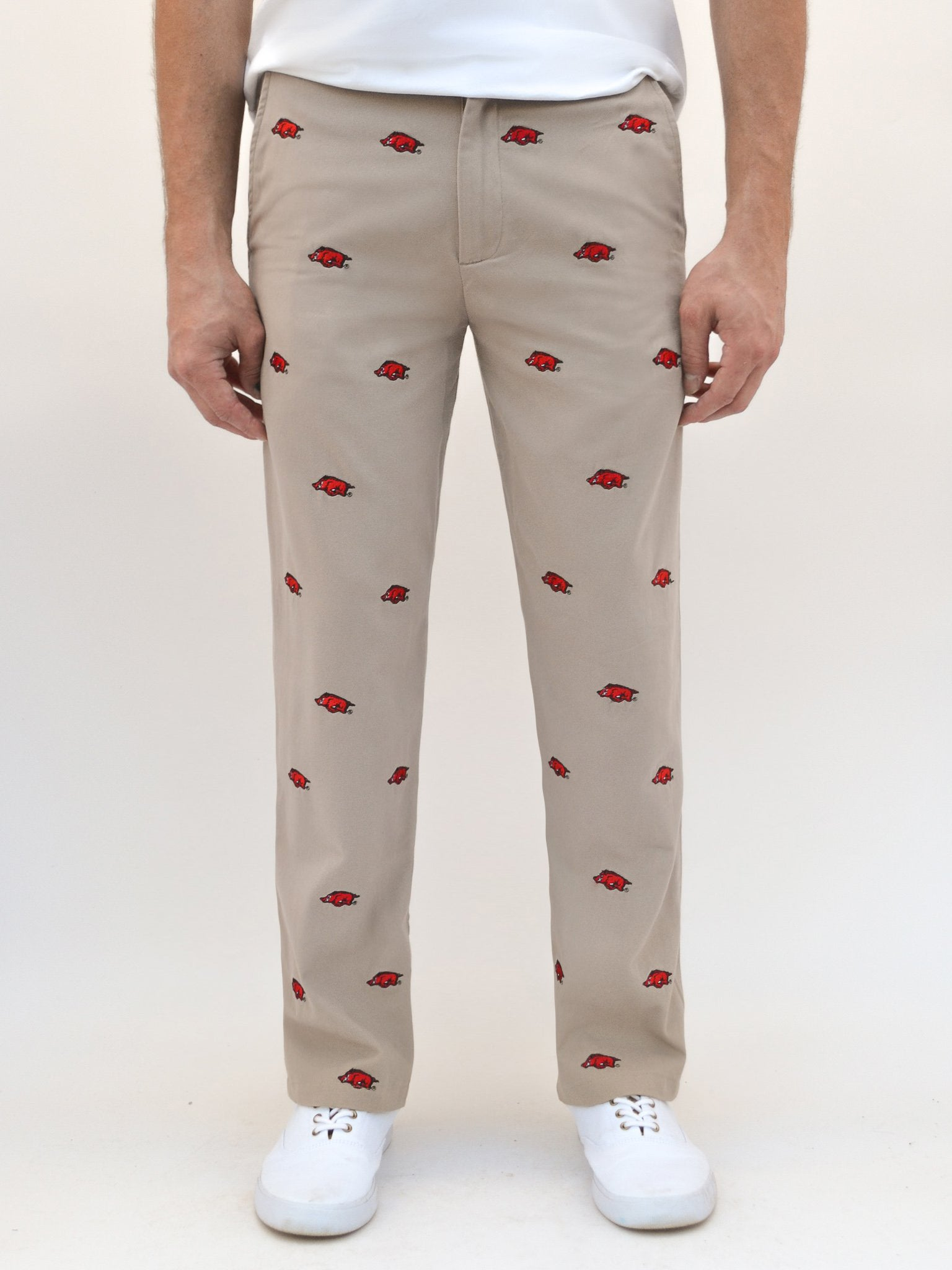 Arkansas Razorback Khaki Pants