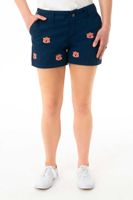 Auburn Women's Blue Short