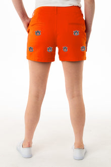 Auburn Women's Orange Short