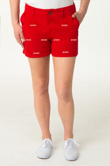 Birdie Women's Red Short