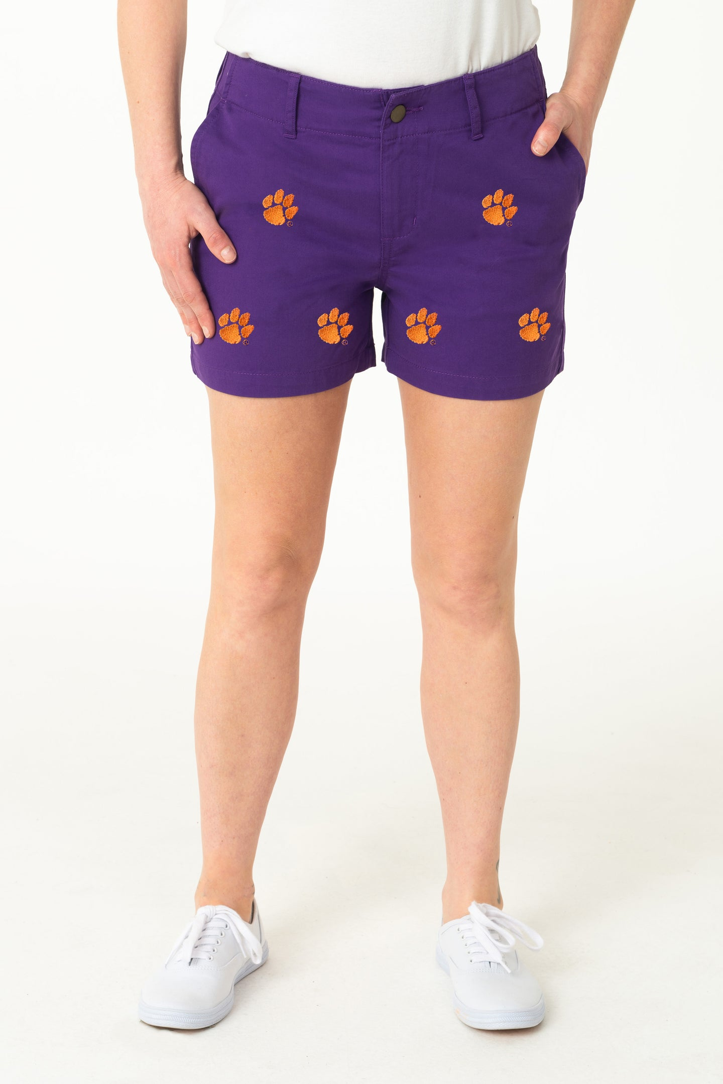 Clemson Women's Purple Short