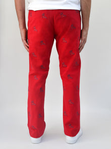 Ole Miss Red Pant