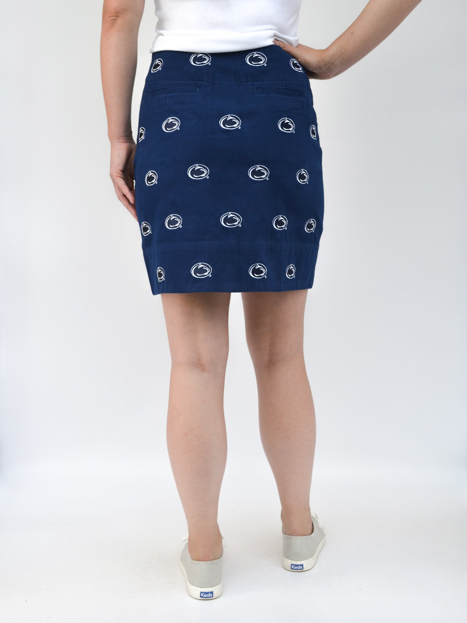 Penn State Blue Skirt