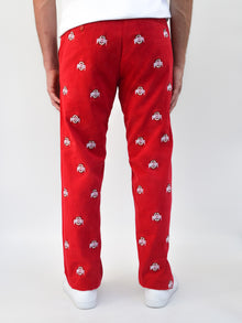 Ohio State Red Pants