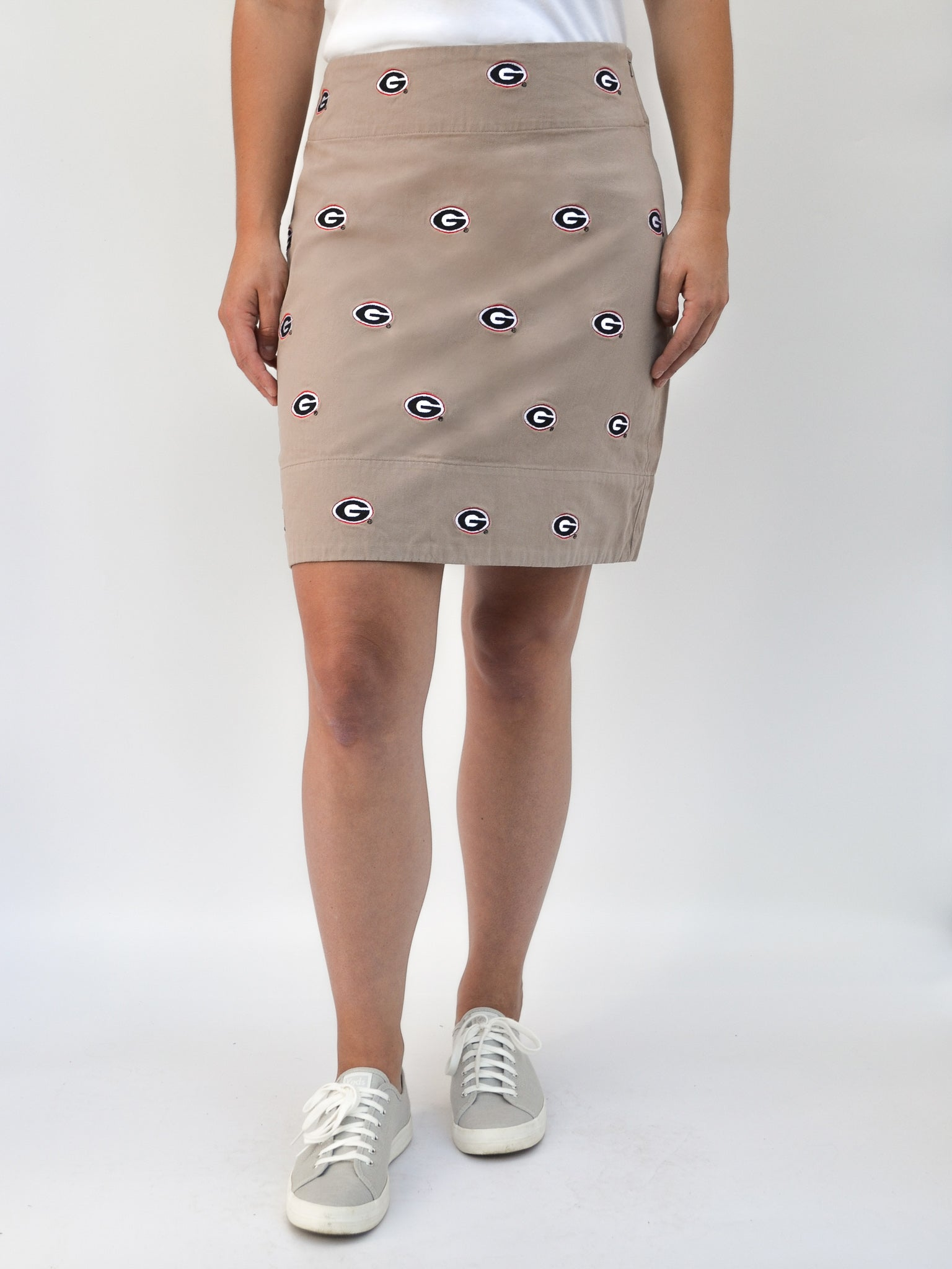 Georgia G Khaki Skirt