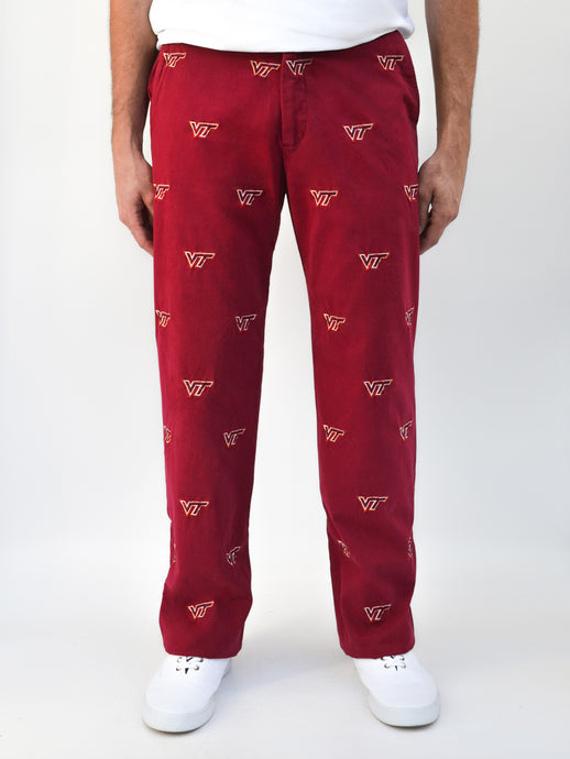 Virginia Tech Maroon Pant