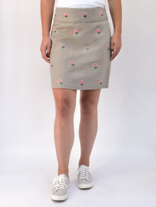 Ohio State Khaki Skirt