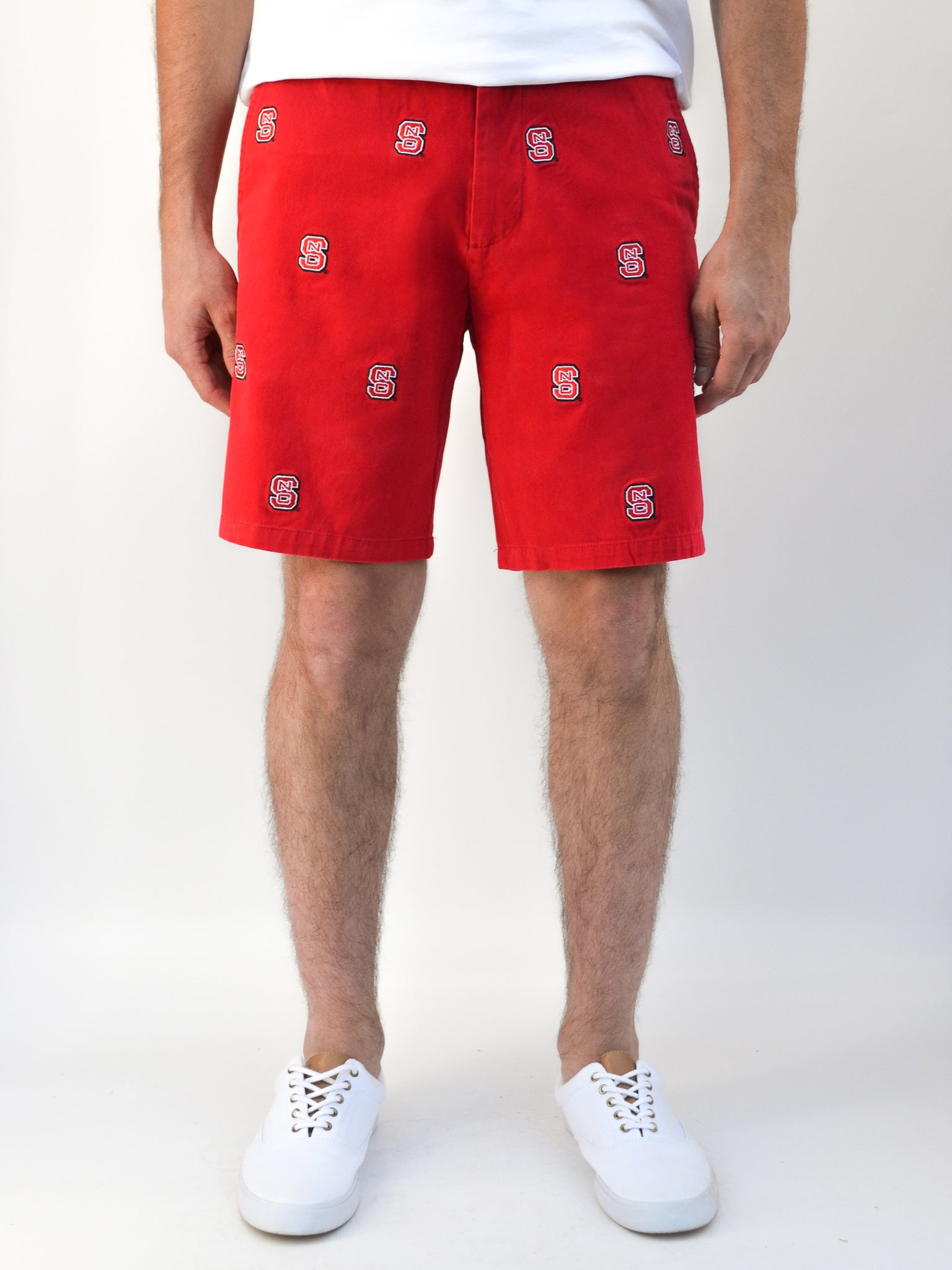NC State Red Shorts