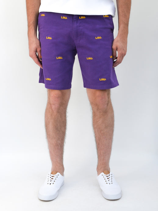 LSU Purple Shorts