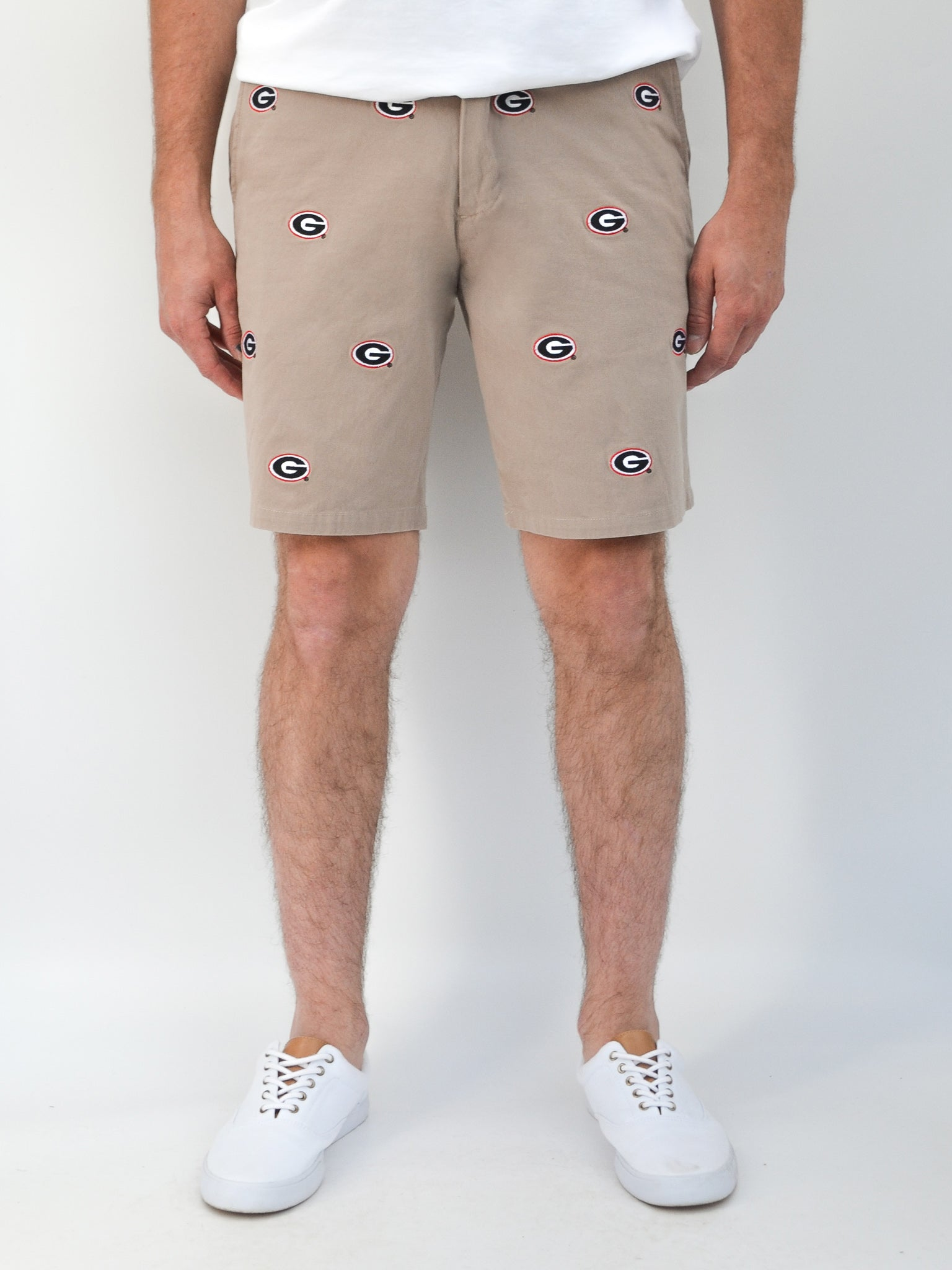 Georgia G Khaki Shorts
