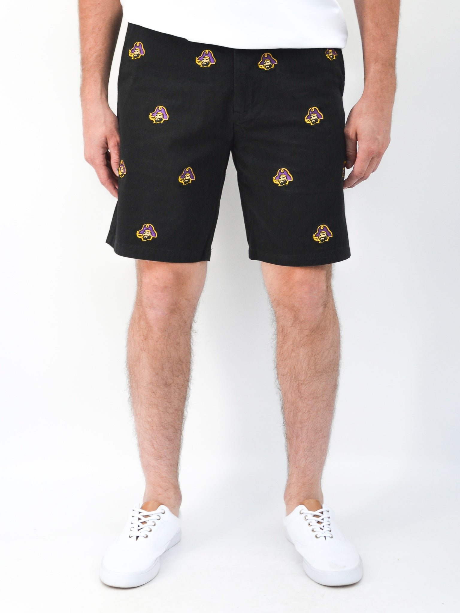 ECU Pirate Black Shorts