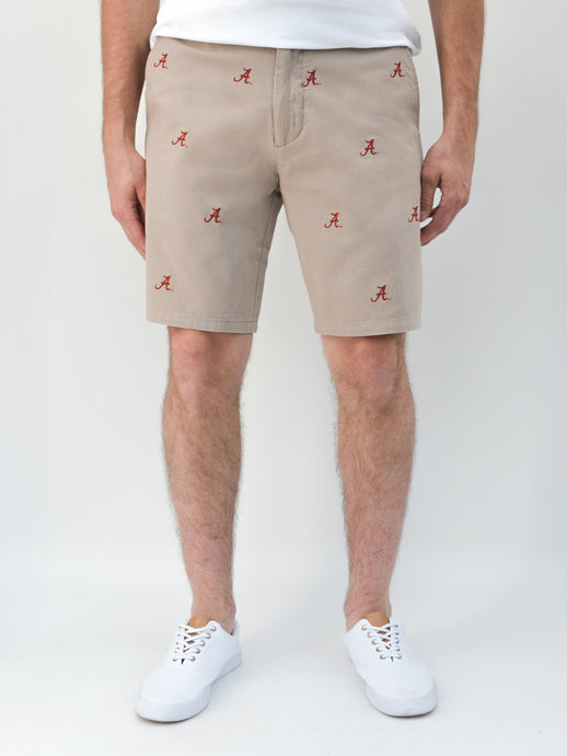 Alabama Khaki Shorts