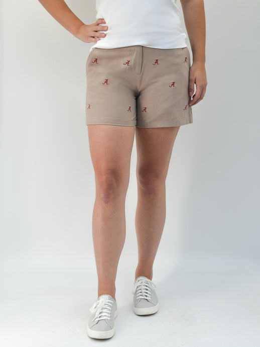 Alabama Khaki Sport Short