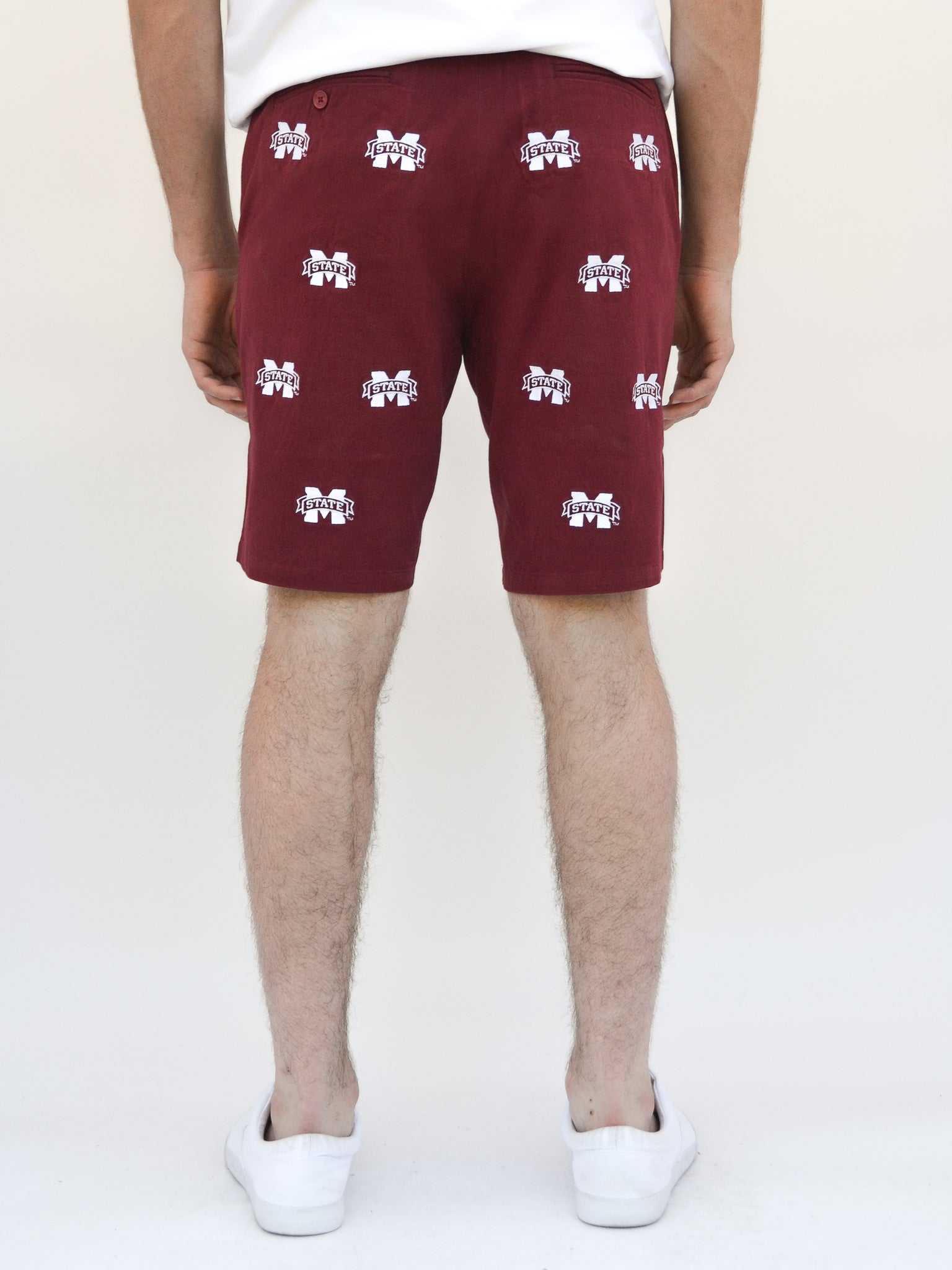 Mississippi State Maroon Shorts