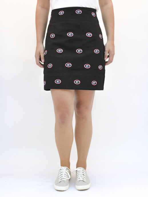 Georgia G Black Skirt