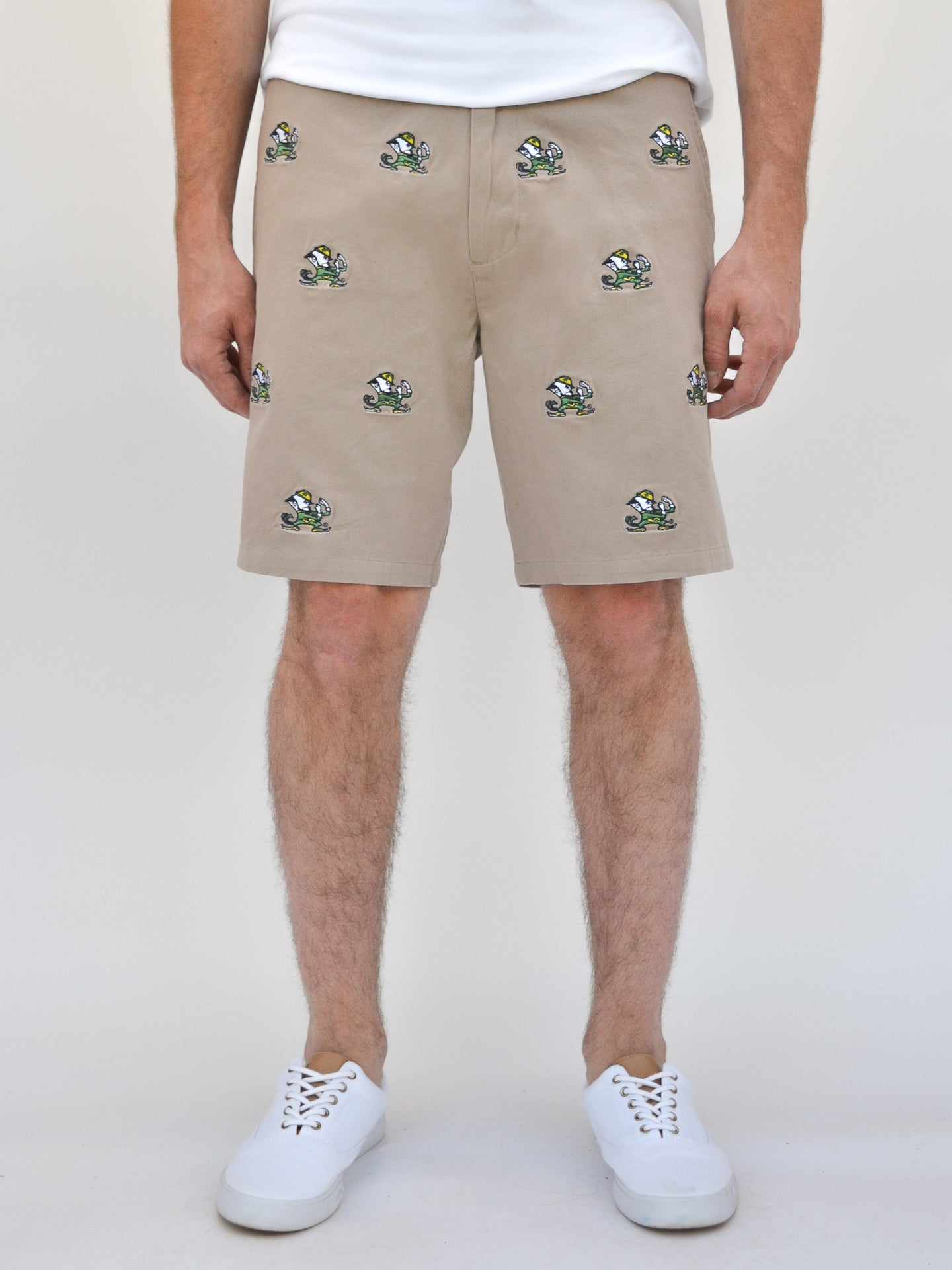 Notre Dame Khaki Fighting Irish Shorts