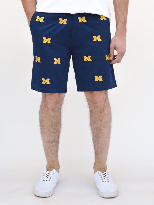 Michigan Blue Short