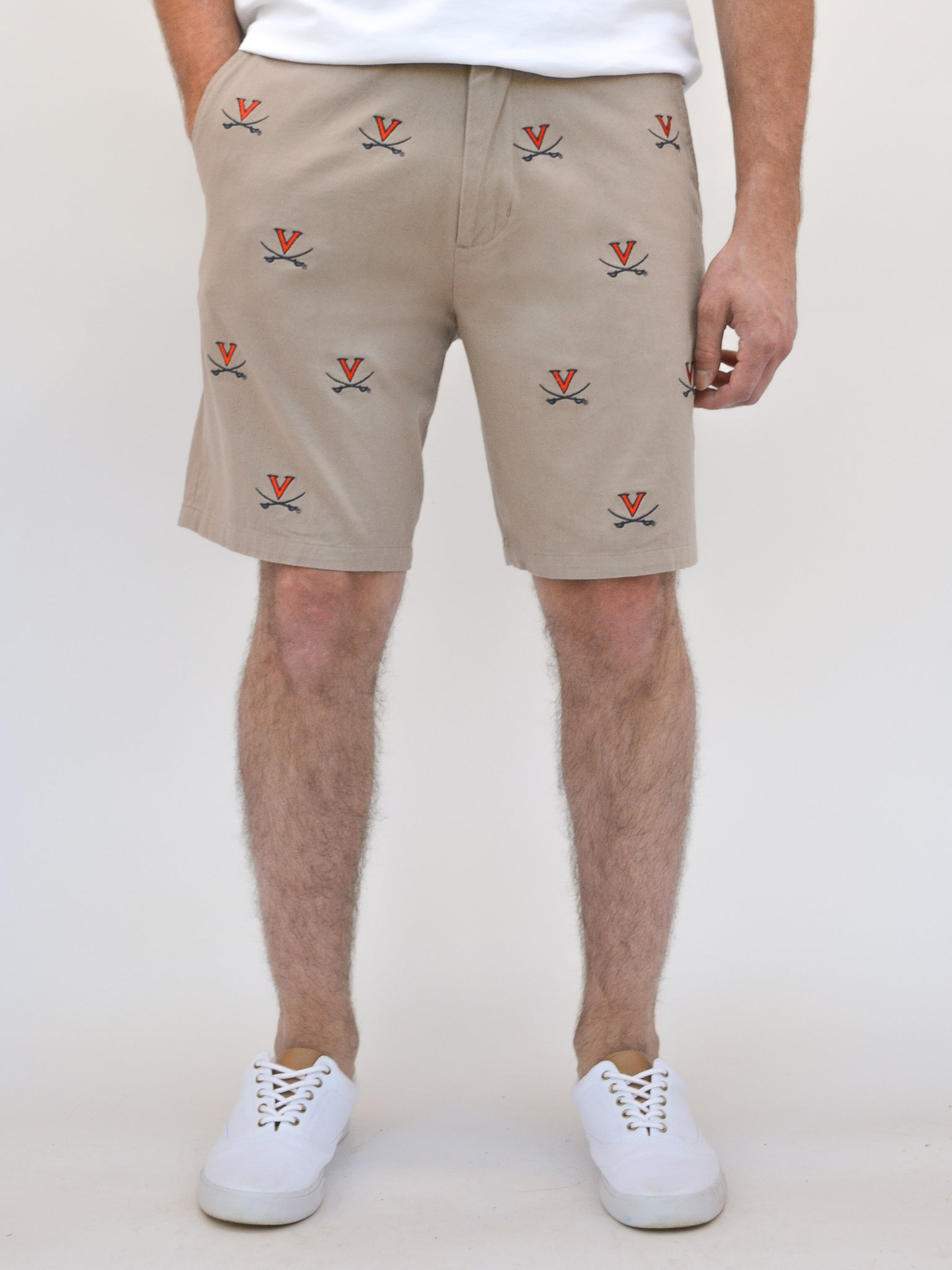 University of Virginia Khaki Shorts