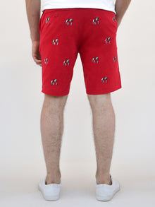 Georgia Bulldogs Red Shorts
