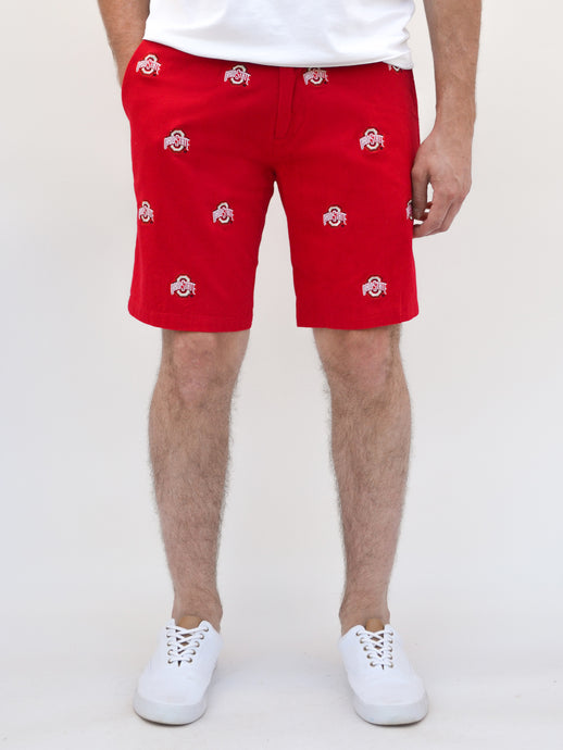 Ohio State Red Shorts