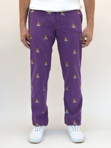 ECU Skull & Bones Purple Pant
