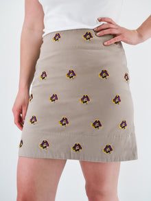 ECU Pirate Khaki Skirt