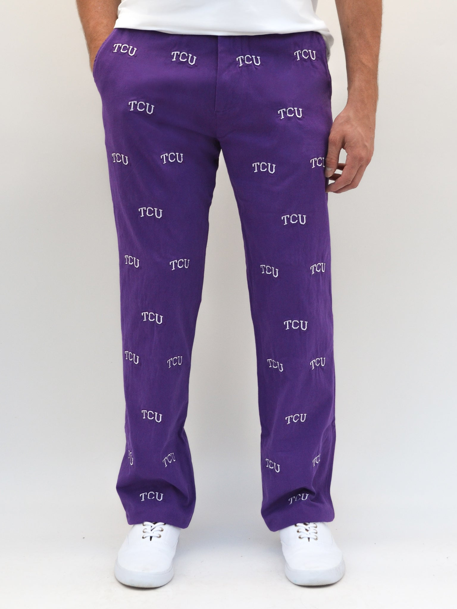 TCU Purple Pants