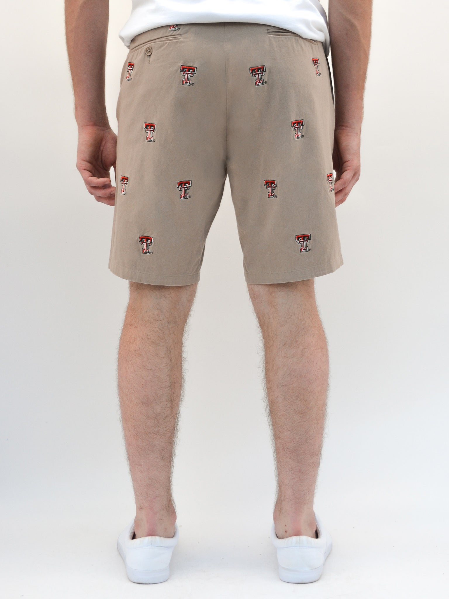 Texas Tech Khaki Shorts