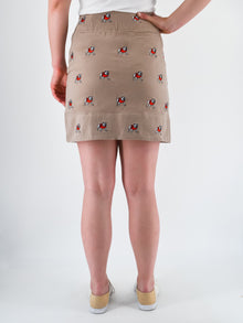 Georgia Bulldog Khaki Skirt