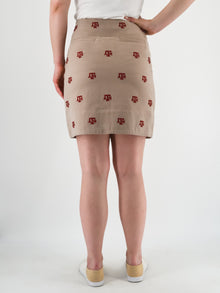 Texas A&M Khaki Skirt