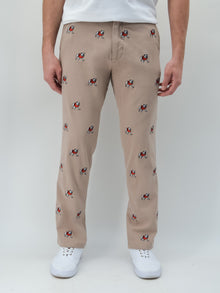 Georgia Bulldog Khaki Pants