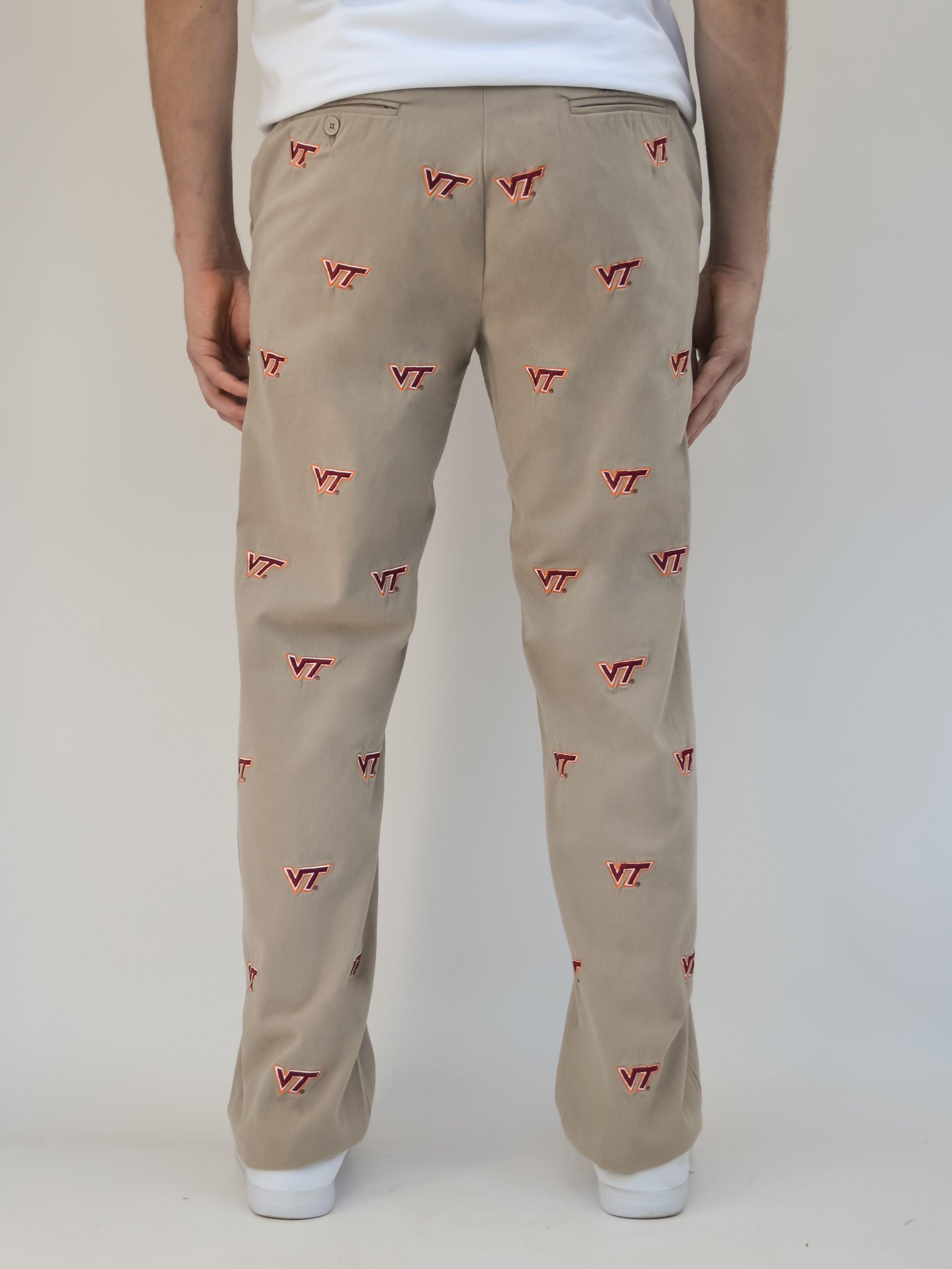 Virginia Tech Khaki Pants