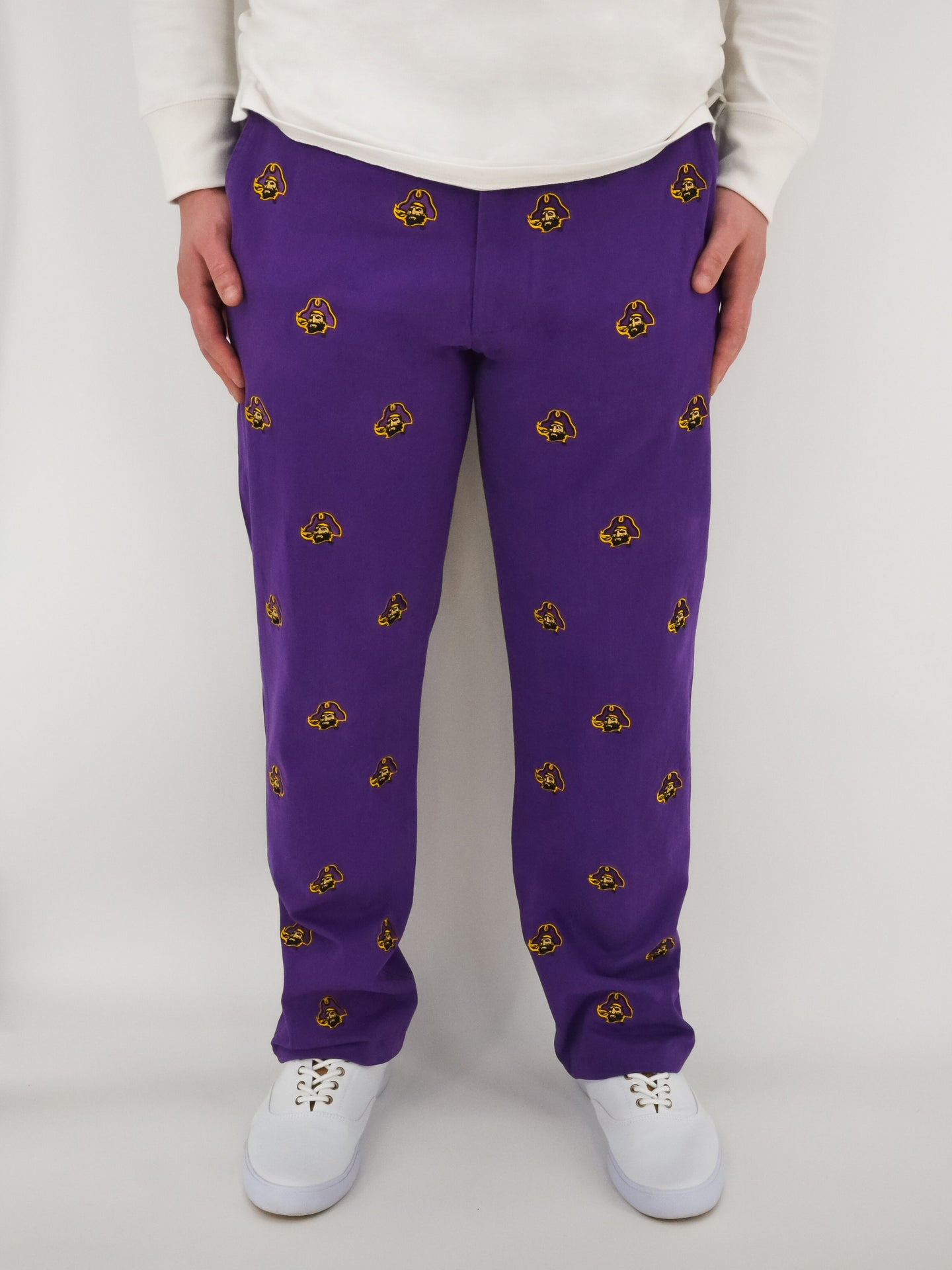 ECU Pirate Purple Pants